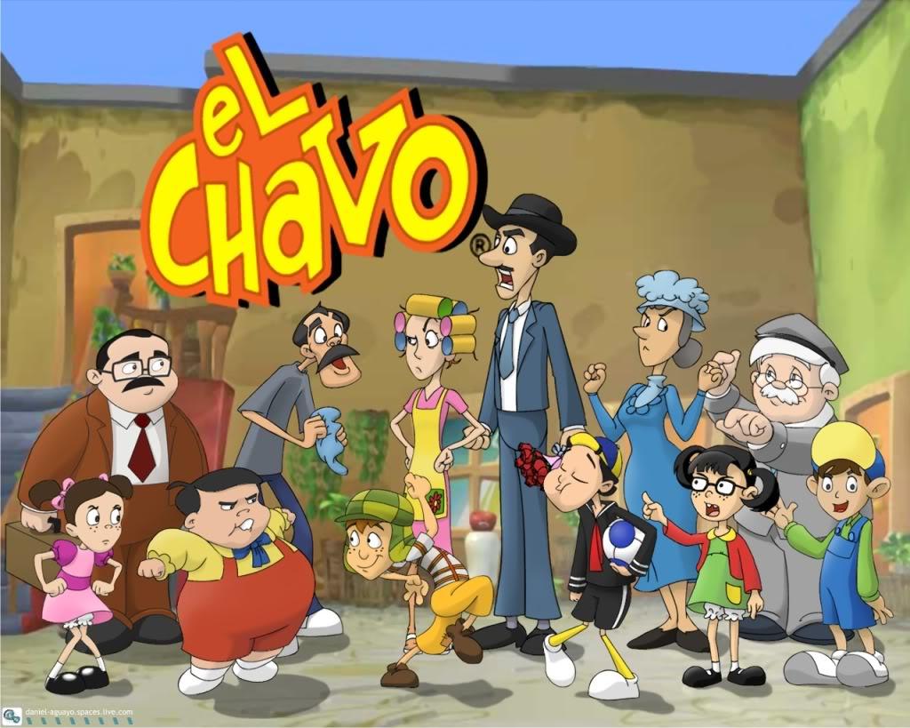 De Tu Serie De Television Favorita El Chavo Animado Esta Hecho De